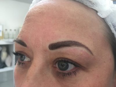Semi permanent eyebrows 07