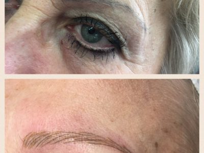 Semi permanent eyebrows 10