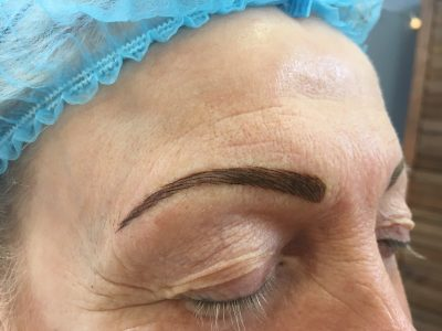 Semi permanent eyebrows 11