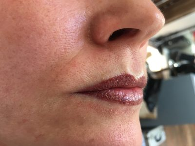 Semi permanent lip makeup 02