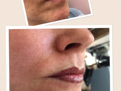 Semi permanent lip makeup 03