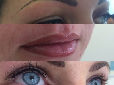 Semi permanent lip makeup 06