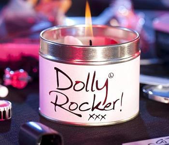 Lily Flame Dolly Rocker candle