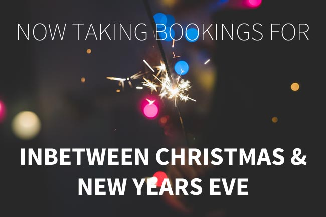 New years eve bookings